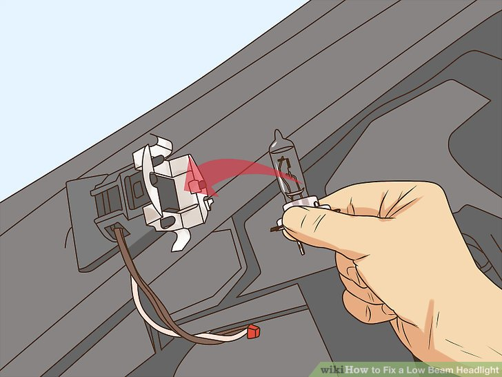 How to Fix a Low Beam Headlight 13 Steps (with Pictures)