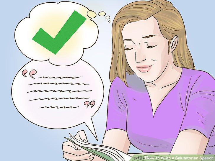 2 Best Ways to Write a Salutatorian Speech - wikiHow - salutatorian speech examples