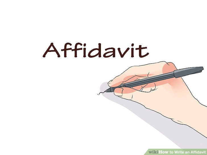 How to Write an Affidavit 10 Steps (with Pictures) - wikiHow