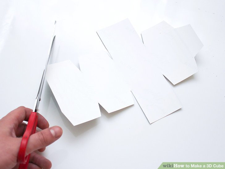 3 Ways to Make a 3D Cube - wikiHow