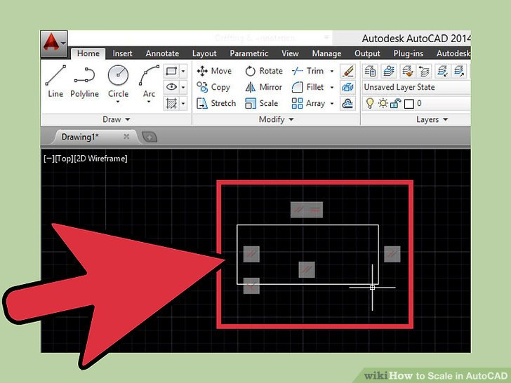 How to Scale in AutoCAD 13 Steps (with Pictures) - wikiHow