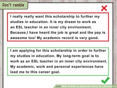 4 Ways to Write an Application Essay for a Scholarship - wikiHow