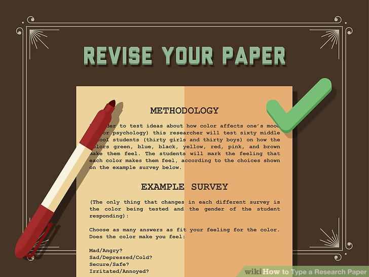How to Type a Research Paper (with Pictures) - wikiHow - research paper