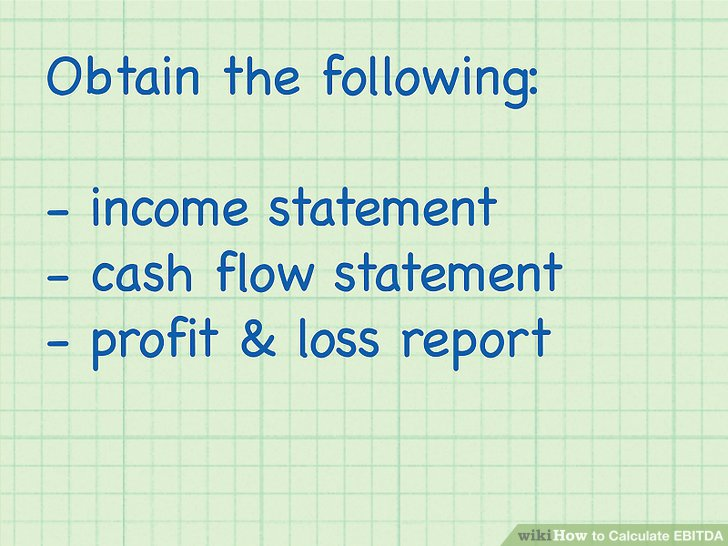 How to Calculate EBITDA (with Calculator) - wikiHow - components of income statement