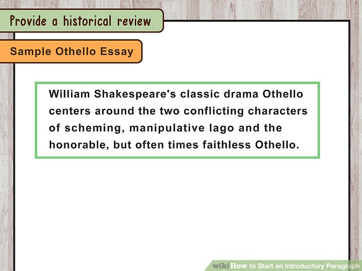 3 Ways to Start an Introductory Paragraph - wikiHow - essay introductory paragraph