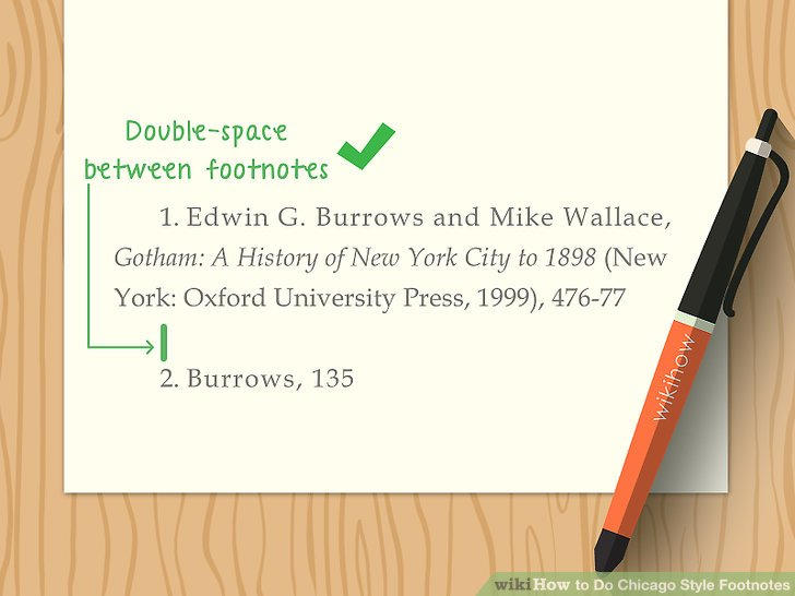 3 Ways to Do Chicago Style Footnotes - wikiHow - chicago style footnotes example