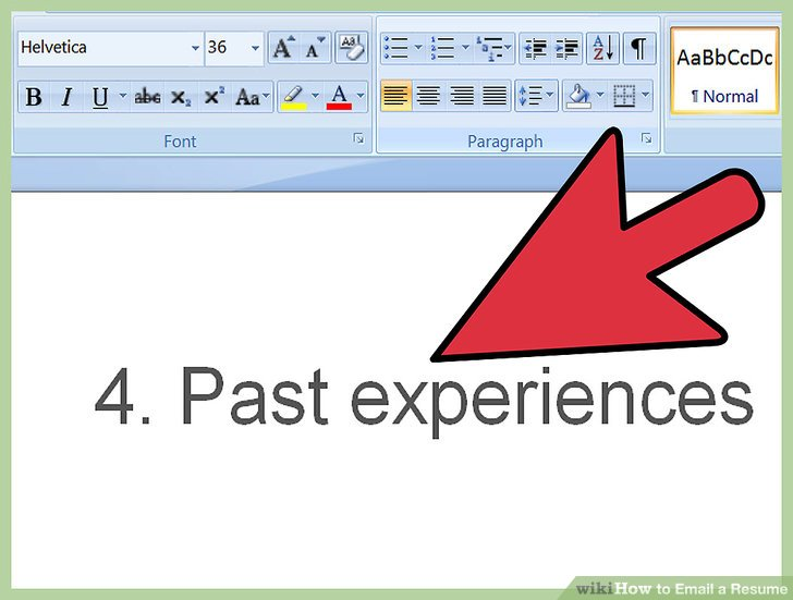 How to Email a Resume (with Pictures) - wikiHow - email with resume