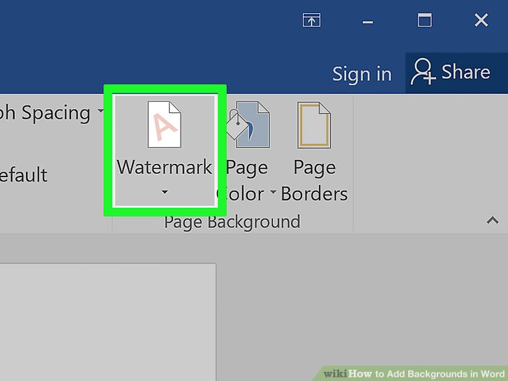 5 Easy Ways to Add Backgrounds in Word - wikiHow