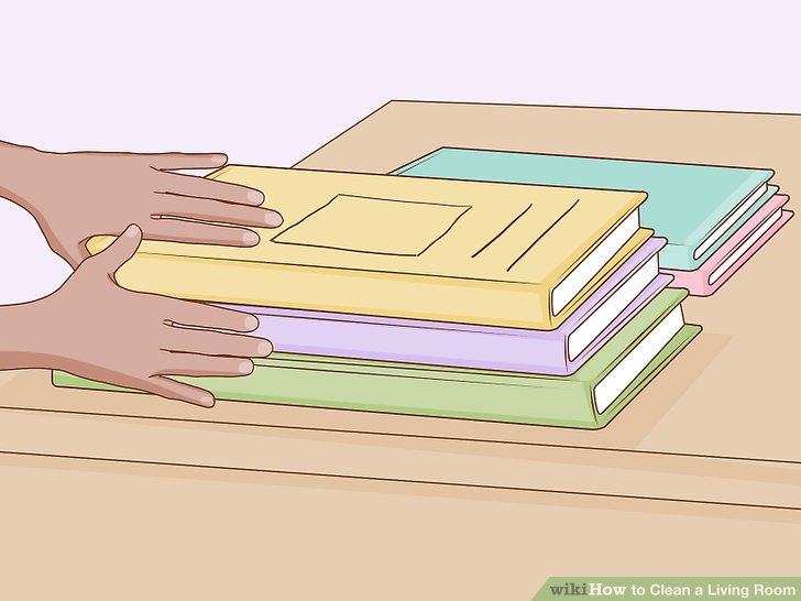 How To Clean A Living Room With Pictures Wikihow