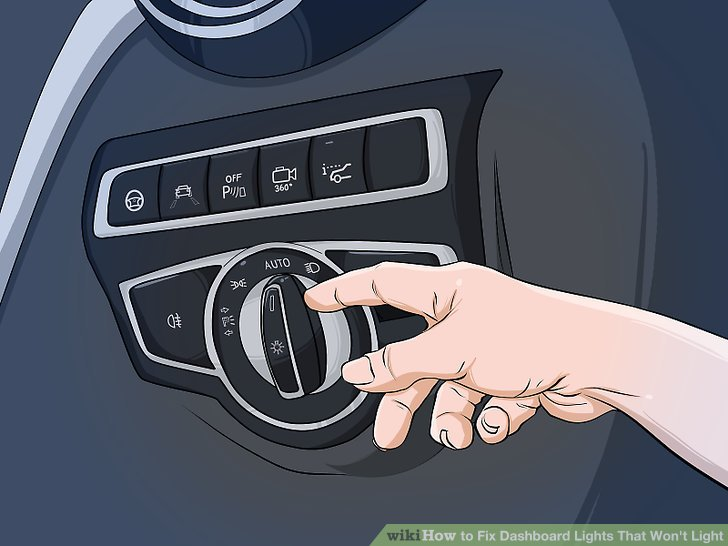 How To Fix Dashboard Lights That Won39t Light 4 Steps