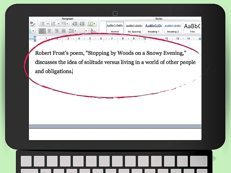 How to Format a Long Quote in MLA Style   Jerz s Literacy Weblog Relatably com