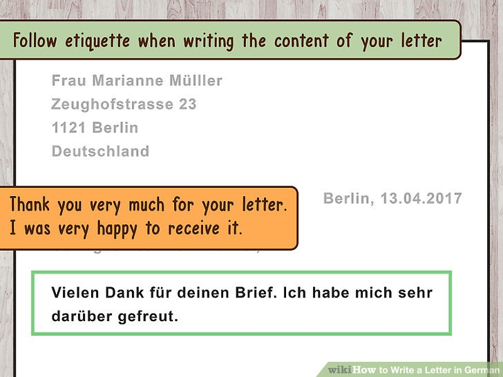 3 Ways to Write a Letter in German - wikiHow