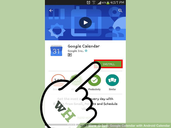 How to Sync Google Calendar with Android Calendar (with Pictures)