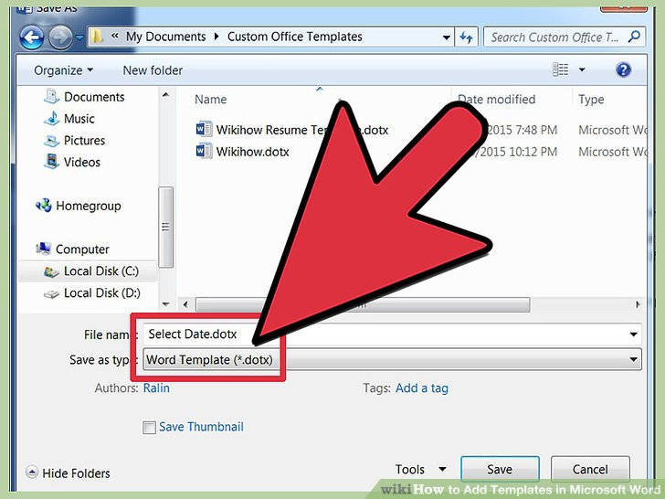 4 Easy Ways to Add Templates in Microsoft Word - wikiHow - microsoft office com templates