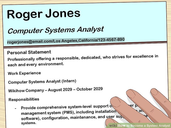 How to Become a System Analyst 13 Steps (with Pictures) - wikiHow
