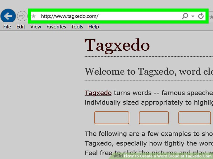 How to Create a Word Cloud at TagxedoCom 11 Steps