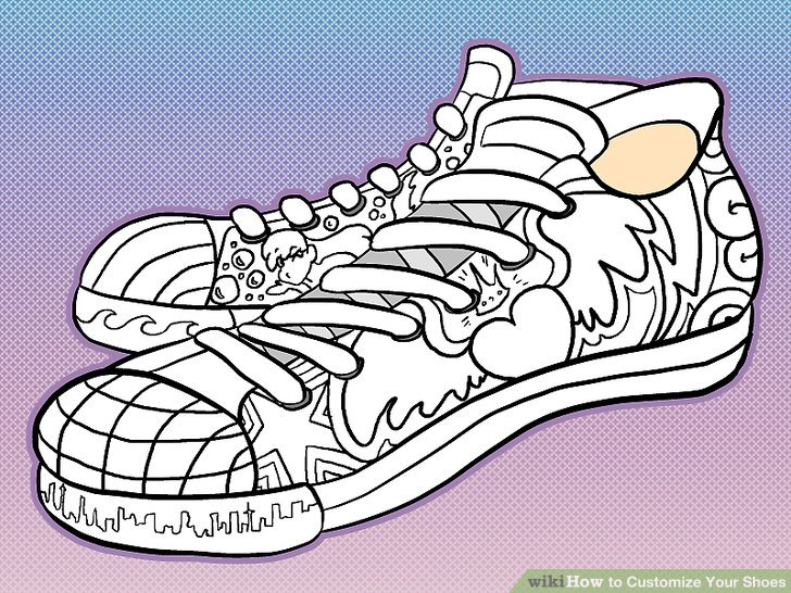 5 Ways to Customize Your Shoes - wikiHow