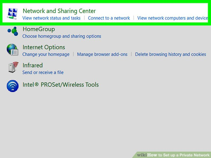 How to Set up a Private Network 9 Steps (with Pictures) - wikiHow