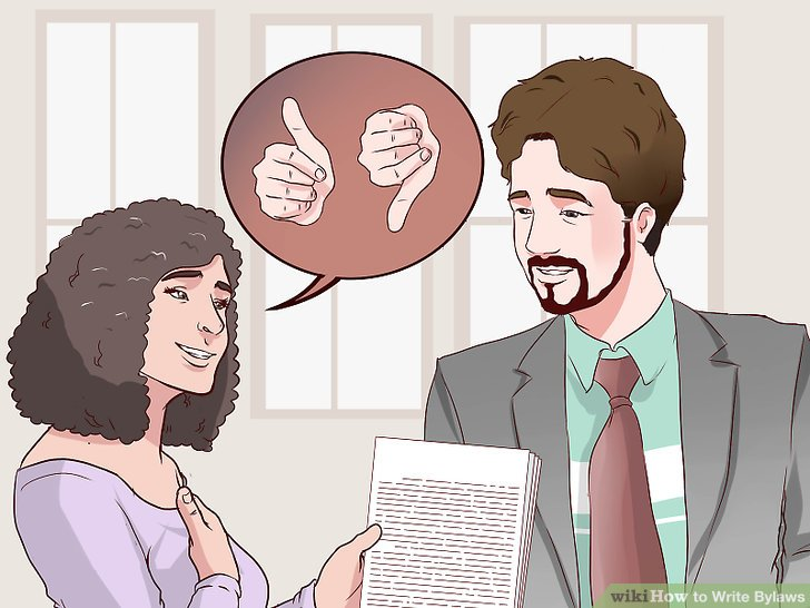 How to Write Bylaws (with Pictures) - wikiHow
