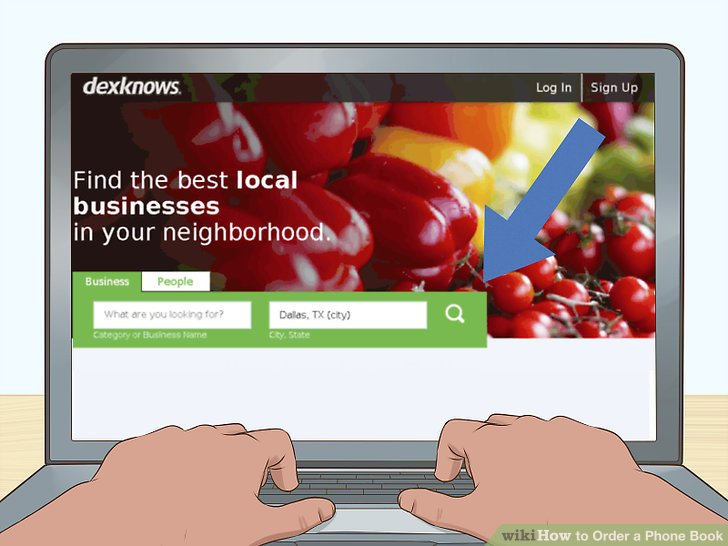 How to Order a Phone Book 10 Steps (with Pictures) - wikiHow
