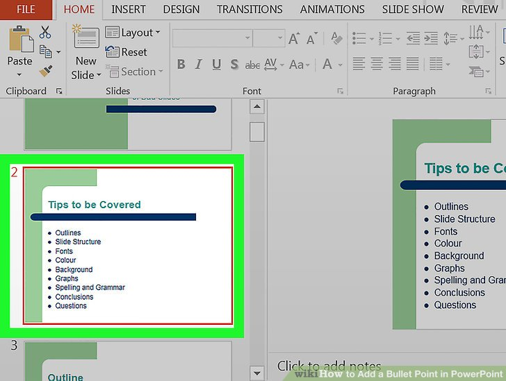 How to Add a Bullet Point in PowerPoint 6 Steps (with Pictures) - types of power points