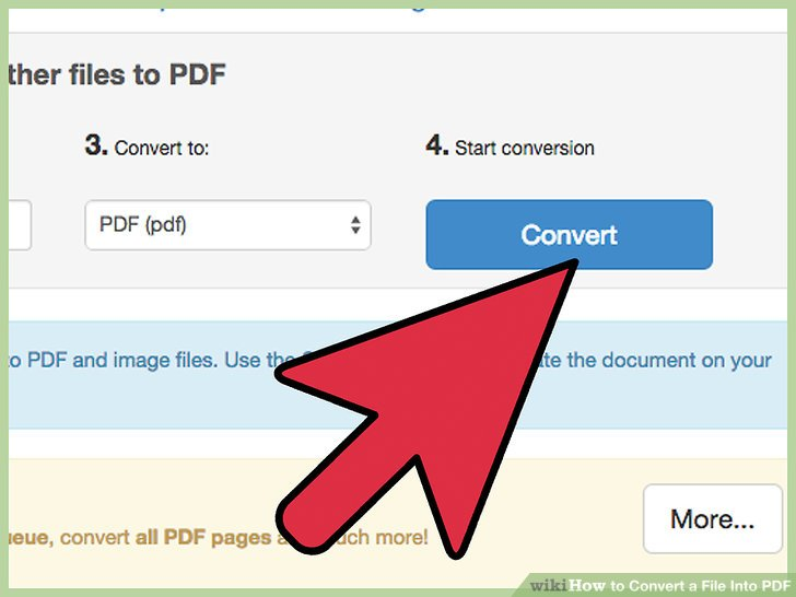 5 Ways to Convert a File Into PDF - wikiHow - Convert File To Pdf