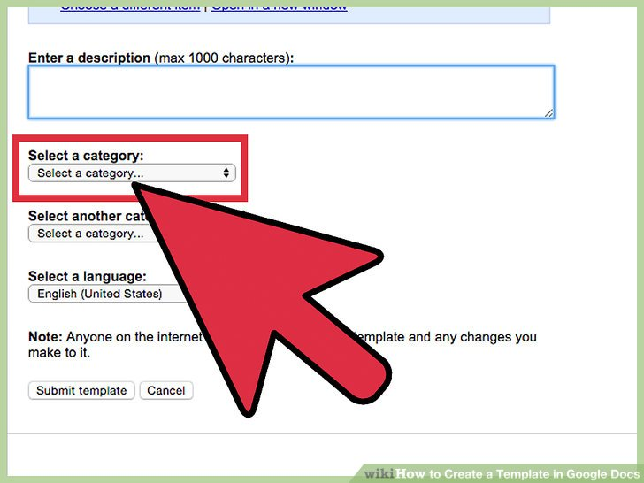 How to Create a Template in Google Docs 13 Steps (with Pictures)