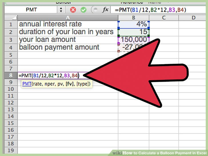 Balloon Loan Calculator Excellent Resource For Excel Templates