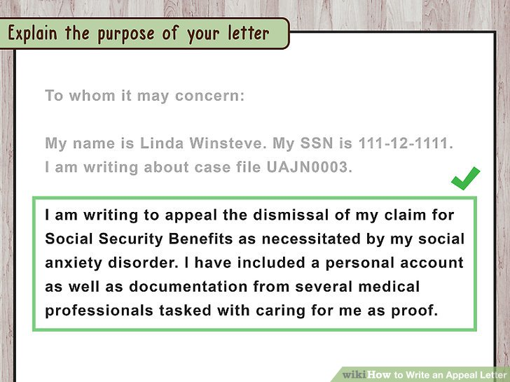 How to Write an Appeal Letter (with Pictures) - wikiHow - writing an appeal letter