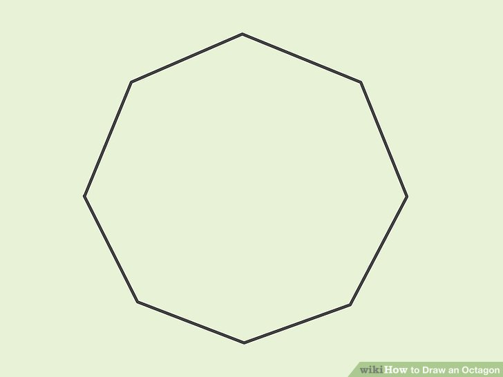 How to Draw an Octagon (with Pictures) - wikiHow