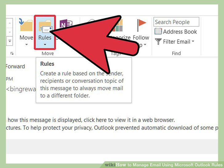 How to Manage Email Using Microsoft Outlook Rules 8 Steps