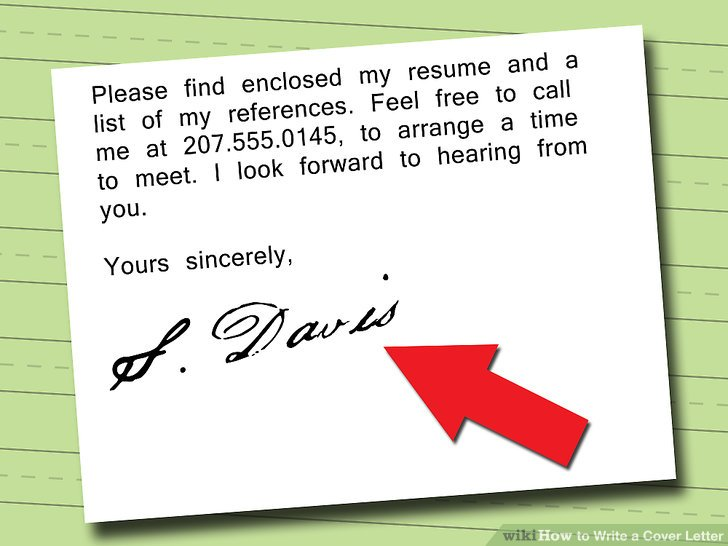 5 Ways to Write a Cover Letter - wikiHow - enclosed is my resume