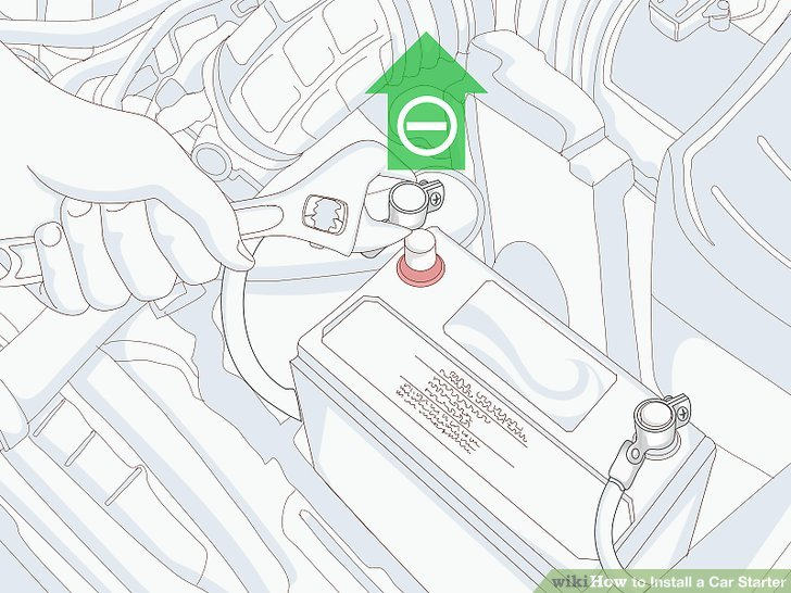 How to Install a Car Starter 14 Steps (with Pictures) - wikiHow