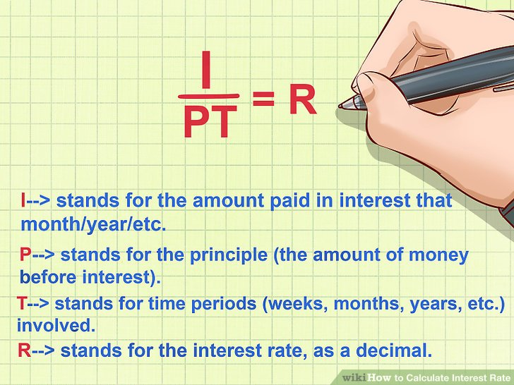 How to Calculate Interest Rate 10 Steps (with Pictures) - wikiHow - annual interest rate formula