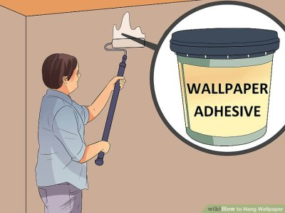 5 Ways to Hang Wallpaper - wikiHow
