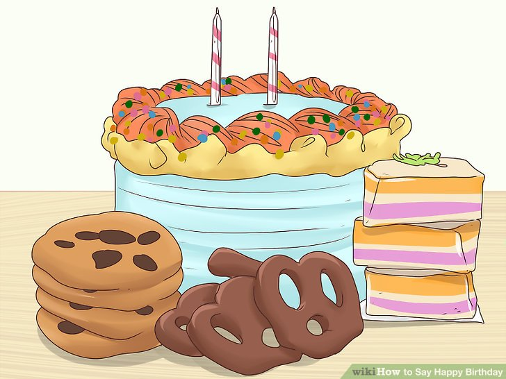 How to Say Happy Birthday 14 Steps (with Pictures) - wikiHow