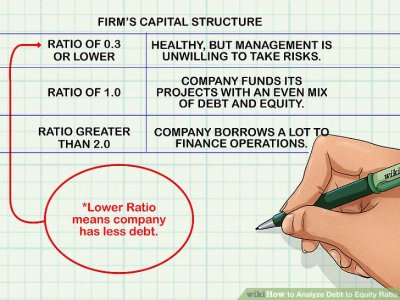 How to Analyze Debt to Equity Ratio: 7 Steps (with Pictures)