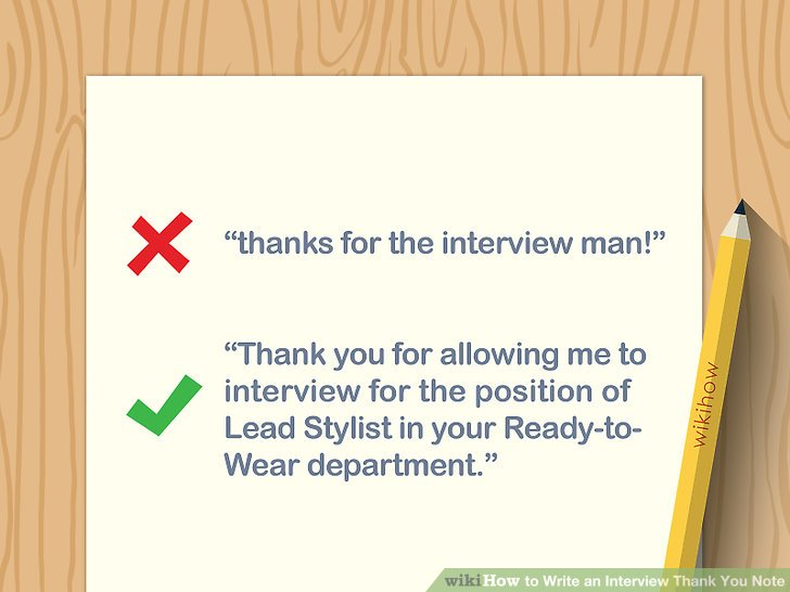 How to Write an Interview Thank You Note (with Examples)