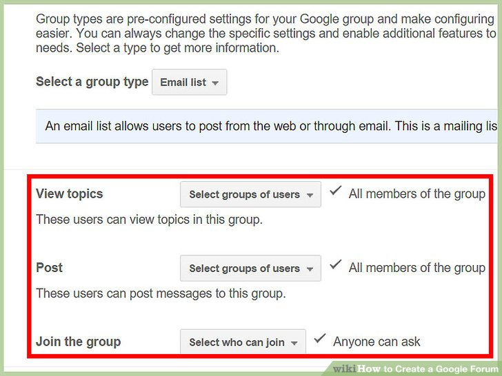 How to Create a Google Forum 15 Steps (with Pictures) - wikiHow