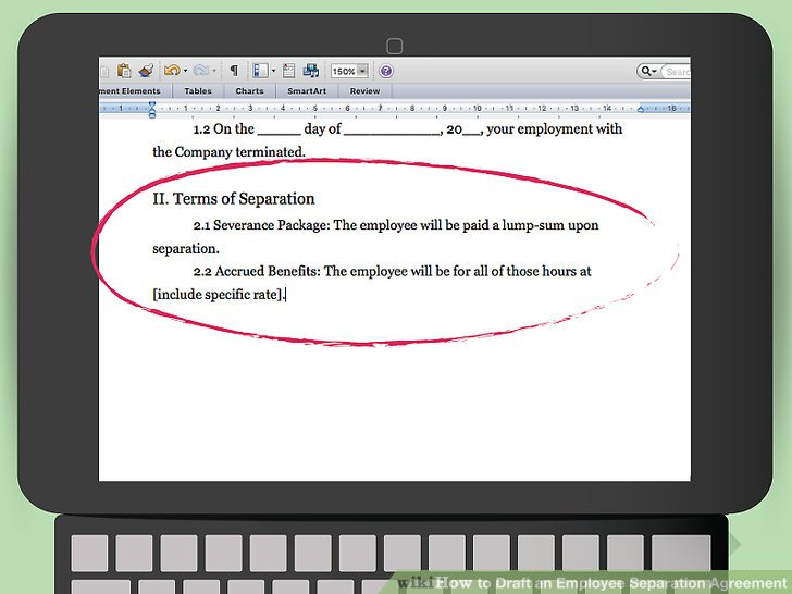 How to Draft an Employee Separation Agreement 15 Steps - employment separation agreement