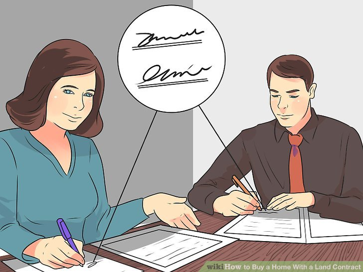 How to Buy a Home With a Land Contract 12 Steps (with Pictures)