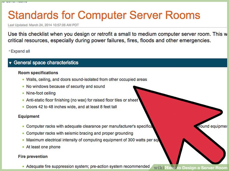 How To Design A Server Room 6 Steps With Pictures Wikihow