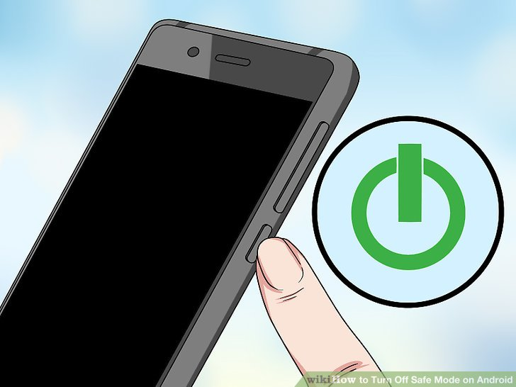 How to Turn Off Safe Mode on Android 14 Steps (with Pictures) - turning off phone