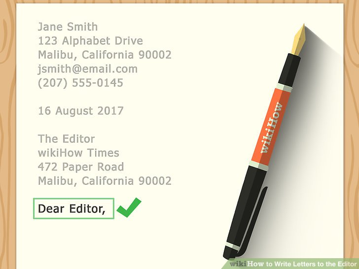 How to Write Letters to the Editor - Practical Information