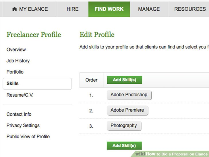 How to Bid a Proposal on Elance 9 Steps (with Pictures) - wikiHow - bid proposals