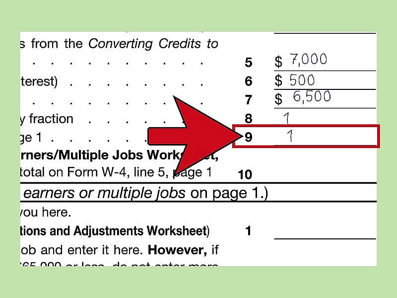 How to Fill Out a W 4 HowT – W-4 Allowances Worksheet