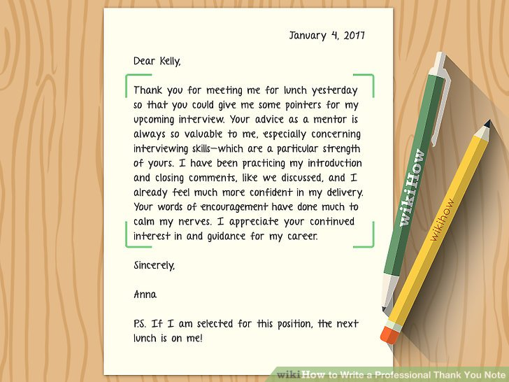 How to Write a Professional Thank You Note (with Sample Notes)
