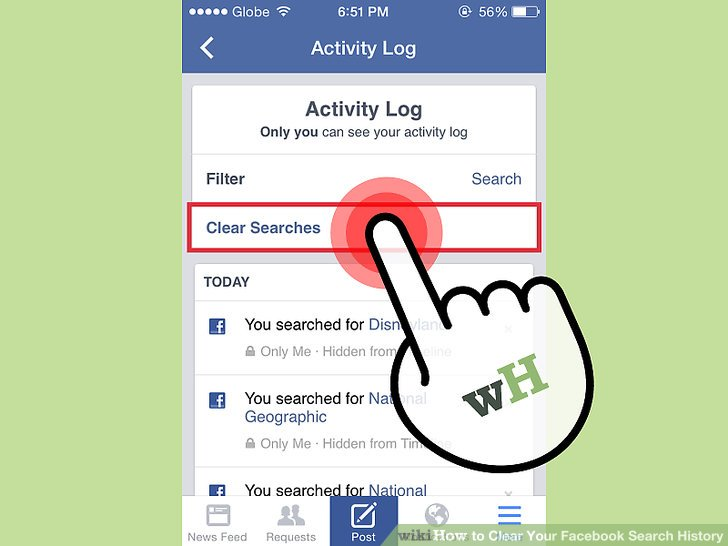 How to Clear Your Facebook Search History 11 Steps