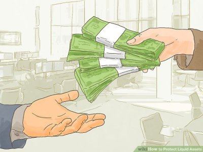 3 Ways to Protect Liquid Assets - wikiHow