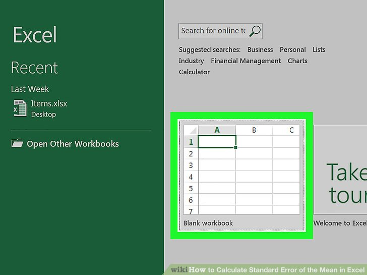 How to Calculate Standard Error of the Mean (SEM) in Excel